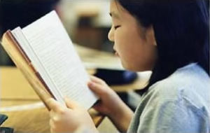 Reading in class